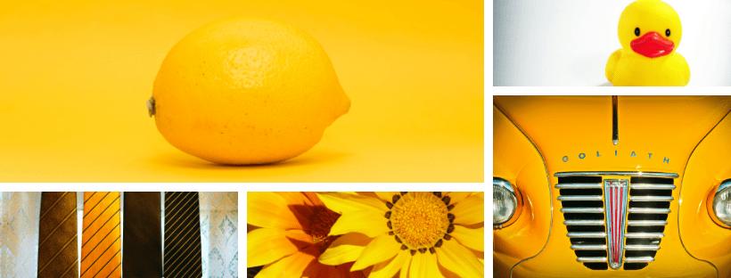 Psicología del Color Amarilllo