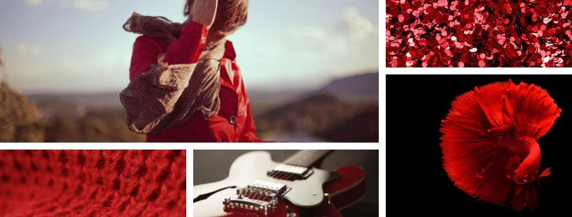 Psicología del Color Rojo